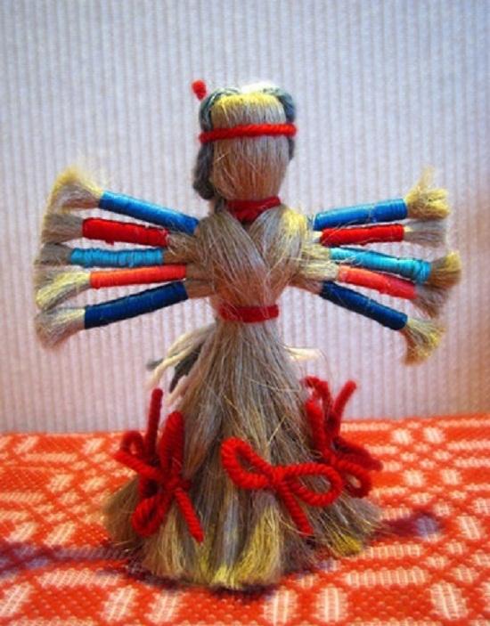 Кукла многоручка своими руками